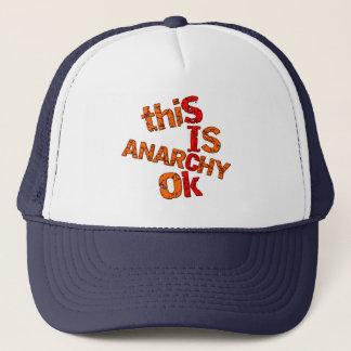 Anarchy ok trucker hat