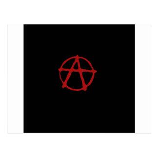 Anarchy. Postcard