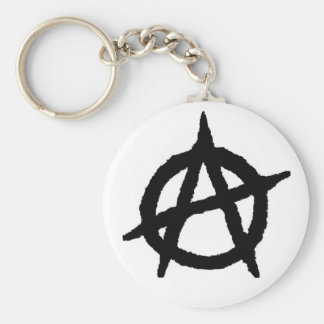 Anarchy Punk Keychain