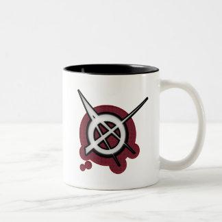 Anarchy punk rock music mugs