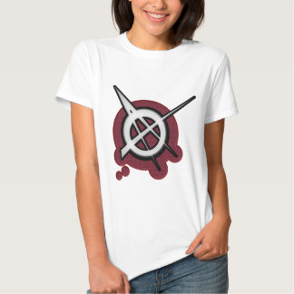 Anarchy punk rock music t shirt