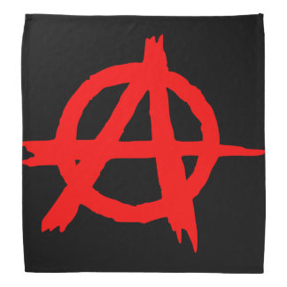 Anarchy Red Bandana