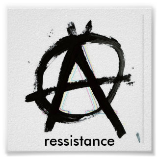 anarchy, ressistance poster