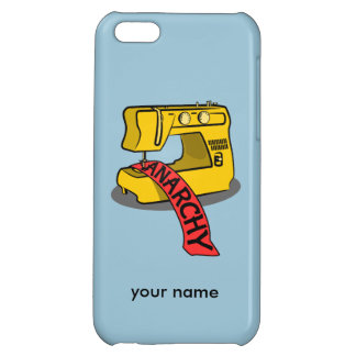 Anarchy Sewing Machine iPhone 5C Cover