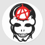 Anarchy Skull 3 Sticker
