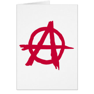 Anarchy SYmbol Card