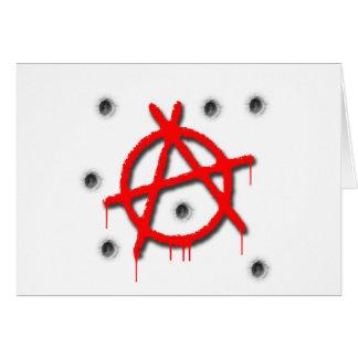 Anarchy Symbol Card