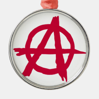 Anarchy SYmbol Christmas Ornament