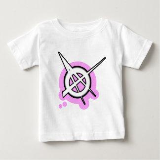 ANARCHY symbol pink Tshirt