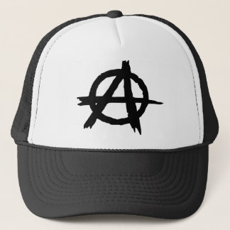 Anarchy Symbol Trucker Hat