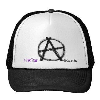 Anarchy Trucker Hat by FireStar Boards