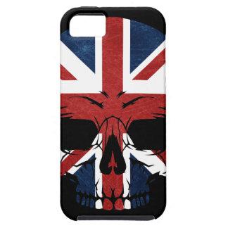 Anarchy UK Skull Flag iPhone 5 Case