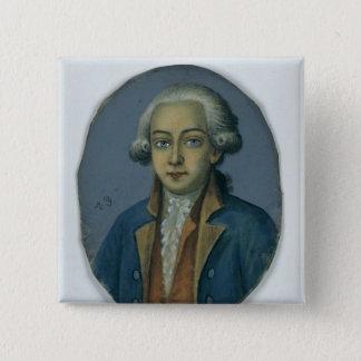 Anastasius Ludwig Mencken, c.1780 15 Cm Square Badge