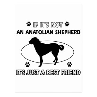ANATOLIAN SHEPHERD best friend designs Postcard
