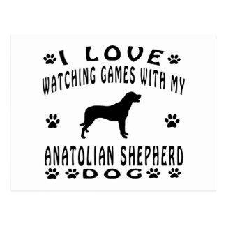 Anatolian Shepherd designs Post Card