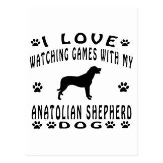 Anatolian Shepherd designs Postcard