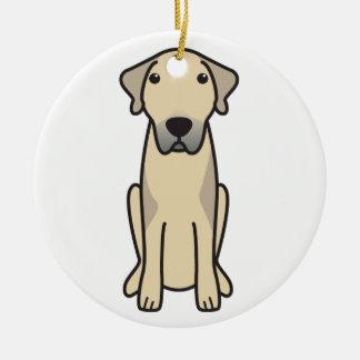 Anatolian Shepherd Dog Cartoon Christmas Ornament