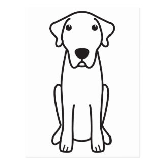Anatolian Shepherd Dog Cartoon Postcard