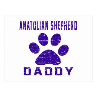 Anatolian Shepherd dog Daddy Gifts Designs Post Card