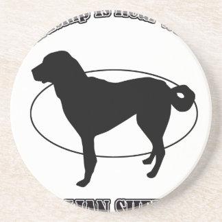 ANATOLIAN SHEPHERD DOG DESIGNS COASTERS