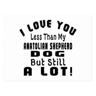 ANATOLIAN SHEPHERD DOG FUNNY DESIGNS POSTCARD