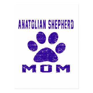 Anatolian Shepherd dog Mom Gifts Designs Postcard