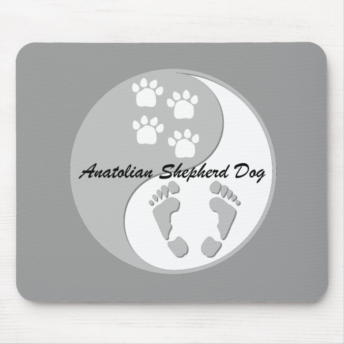 anatolian shepherd dog mouse pad