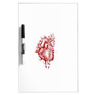 Anatomical Heart Dry Erase Board