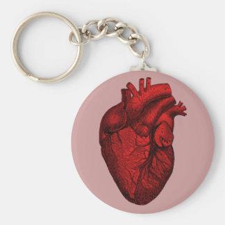 Anatomical Human Heart Key Ring
