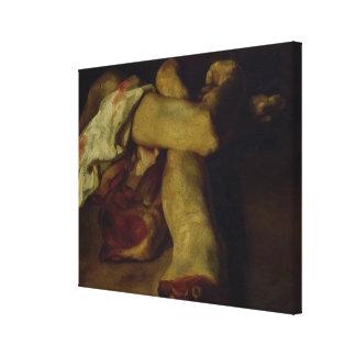 Anatomical Pieces Canvas Print