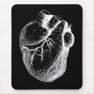 Anatomically Correct Heart Mouse Mat