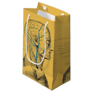 Anatomy - muscles - skull small gift bag