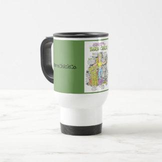 Anatomy of a BarnChick - travel mug