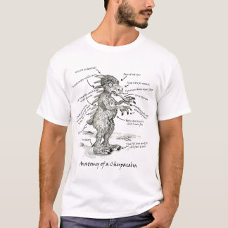 Anatomy of a Chupacabra T-Shirt