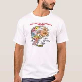 ANATOMY OF A FARMER'S BRAIN T-Shirt