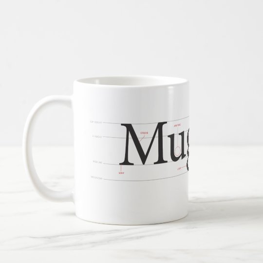 """Anatomy of Mug"" Mug"