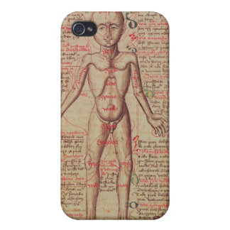 Anatomy of the human body iPhone 4 cover