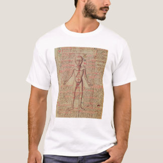 Anatomy of the human body T-Shirt