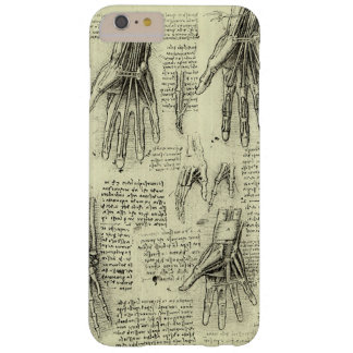 Anatomy of the Human Hand by Leonardo da Vinci Barely There iPhone 6 Plus Case