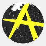 AnCap Wiki Round Stickers