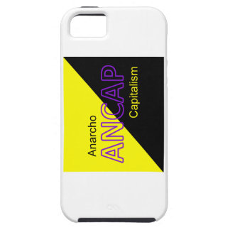 ANCAP Yellow and Black Flag iPhone 5 Covers