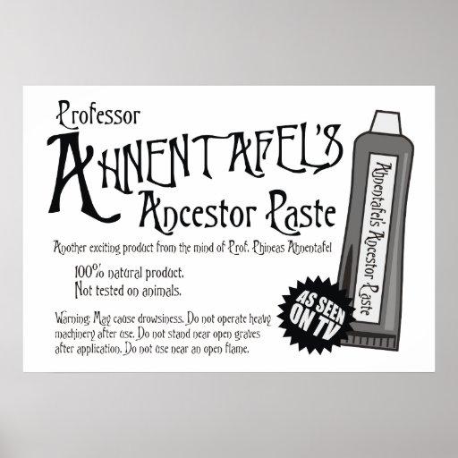 Ancestor Paste Print