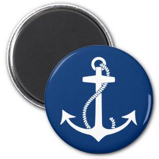 Anchor 6 Cm Round Magnet