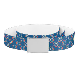 Anchor And Heart Pattern Belt