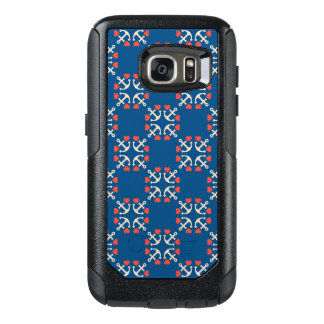 Anchor And Heart Pattern OtterBox Samsung Galaxy S7 Case