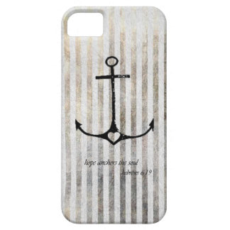Anchor and hope barely there iPhone 5 case