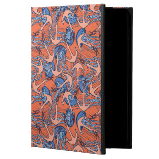 Anchor And Jellyfish Pattern iPad Air Case
