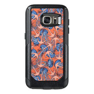 Anchor And Jellyfish Pattern OtterBox Samsung Galaxy S7 Case
