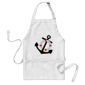anchor and lifesaver standard apron