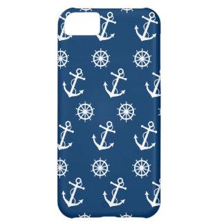 Anchor and Ship's Wheel iPhone 5C Case